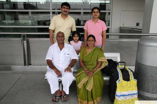 nice family from India in Detroit